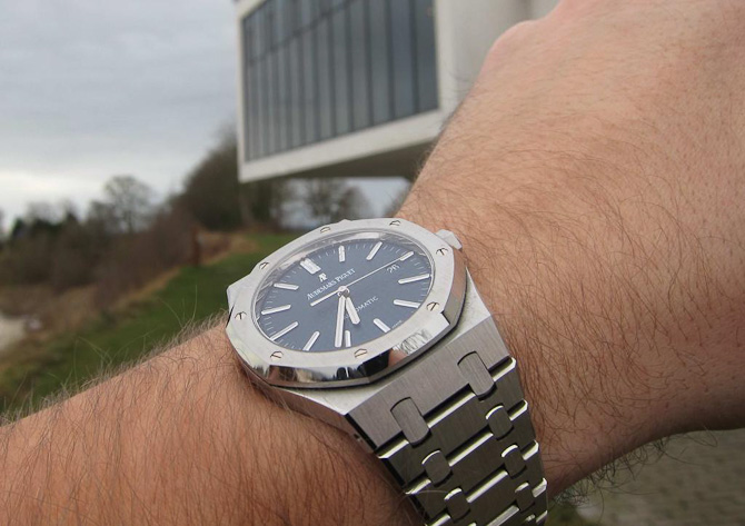 Kim T med arkitektur og Royal Oak.