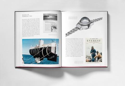 Det her er godt nok en saga om Rolex, der er slået op på - kvinder der ikke måtte have en interesse i ure, bør dog også deltage, da bogen indeholder et stort kapitel om smykker og diamanter.