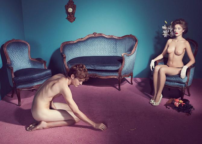 Fotografen Kourtney Roy har beriget YellowKorner med mere eller mindre provokerende fotografier.