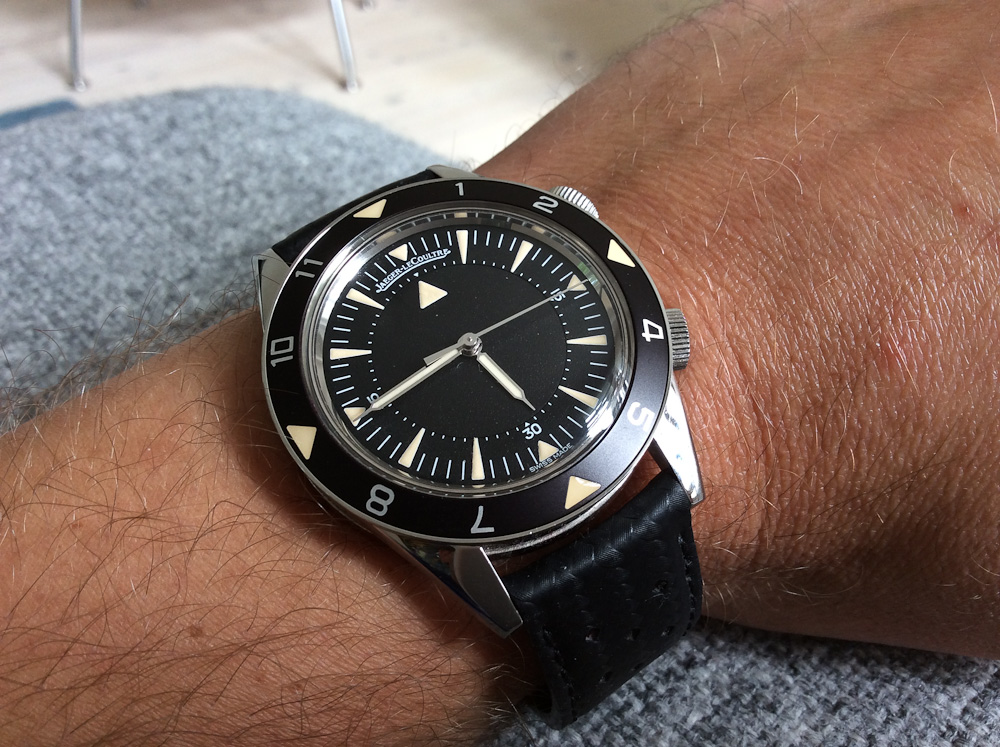 "Kristopher fra FineTime med Jaeger-LeCoultre ""Tribute to Deep Sea"". Skabt i 959 eksemplarer"