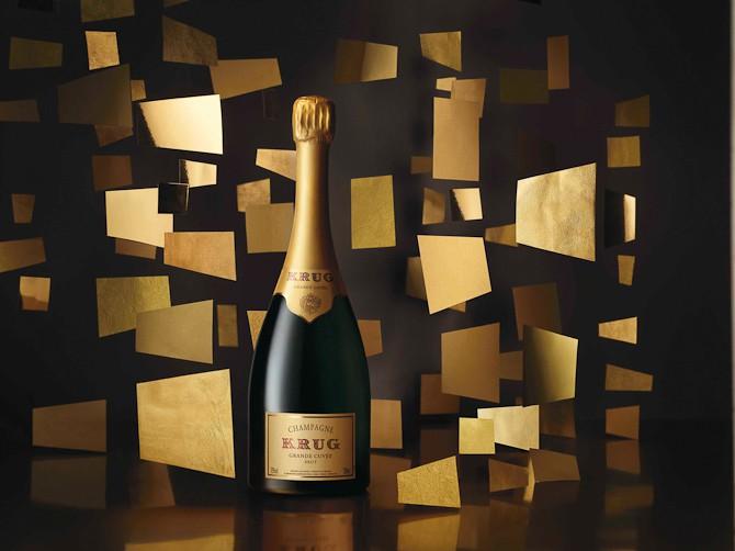 Der er fornem champagne på højkant i dag...