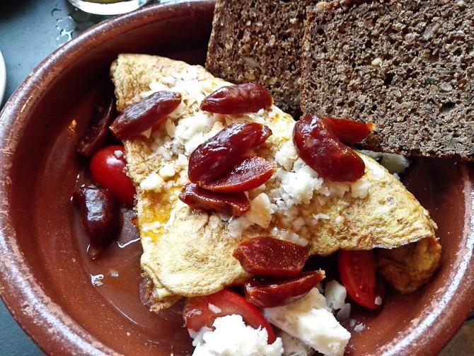 Omelet fra første besøg