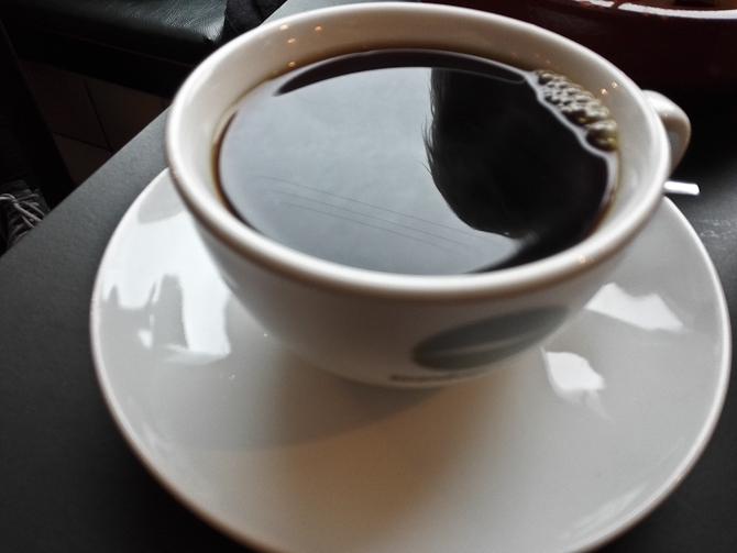 Knaldsort kaffe
