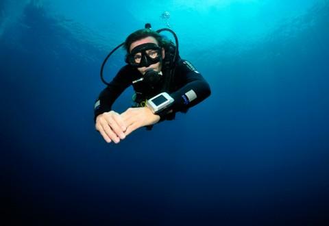 Og så til søs... Jørn Werdelin på dybt vand med Oktopus II.