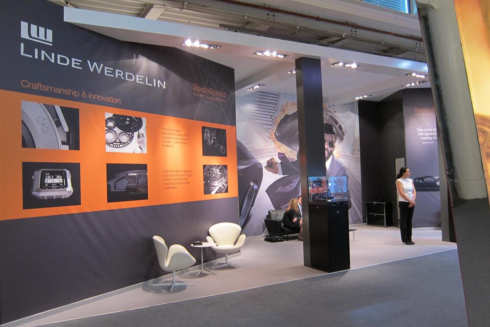 2011 blev året, hvor Linde Werdelin indtog omtrent 14 meter på BaselWorld. Hyggelig og flot stand med danske designikoner.
