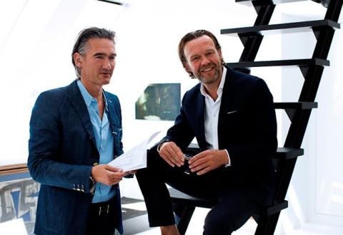 The dynamic duo - Morten og Jørn fra Linde Werdelin. I dag gør de os klogere på deres seneste kreation...