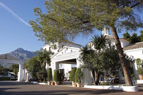 Here we are - Marbella Club! Foto: Claes Bech-Poulsen