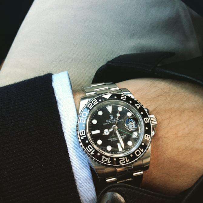 Martin Purtoft Olsen med Rolex GMT