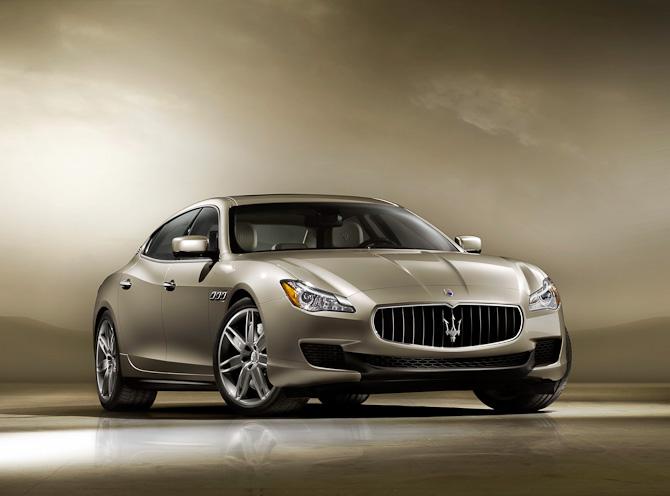 Hello pretty... Tag godt imod den smukke Maserati Quattroporte anno 2013!
