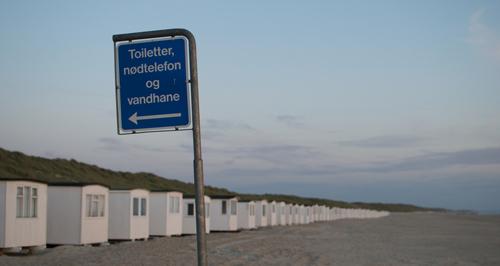 Badehuse i Løkken - tak til Matias S.