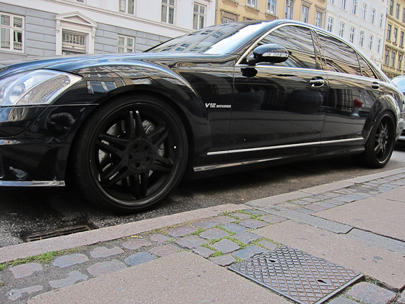 Mercedes S65 AMG - vistnok landets eneste.