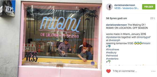 Et udsnit fra Instagram, som omhandler forberedelserne. Men bare hæng på - der kommer også rigtige værker i denne historie...