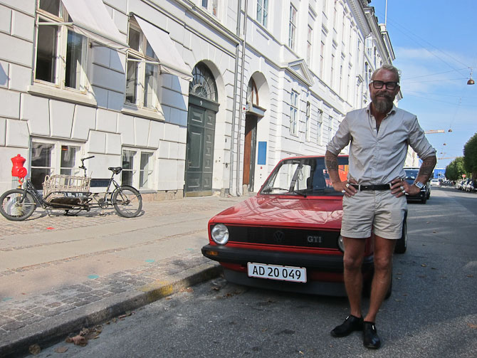 Morten Angelo med korte rør og herligt smil