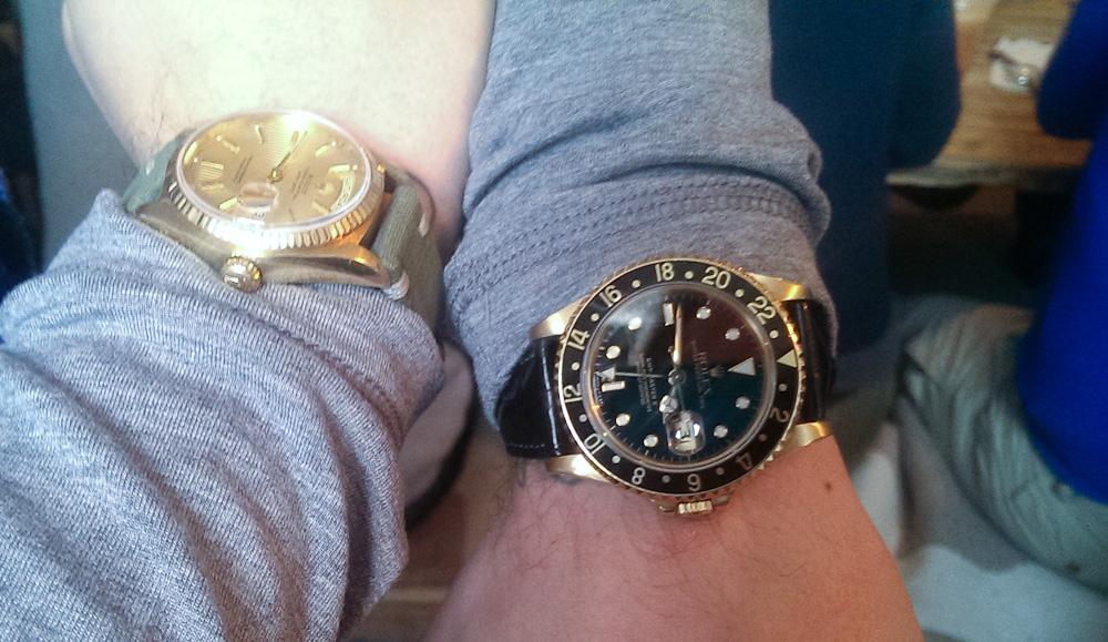 Mark Sinclair spottede dette ur på Morten K
