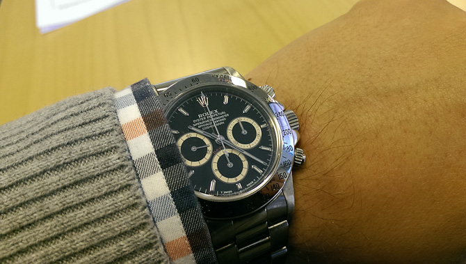 Morten Klitgaard goes Daytona ref. 16520