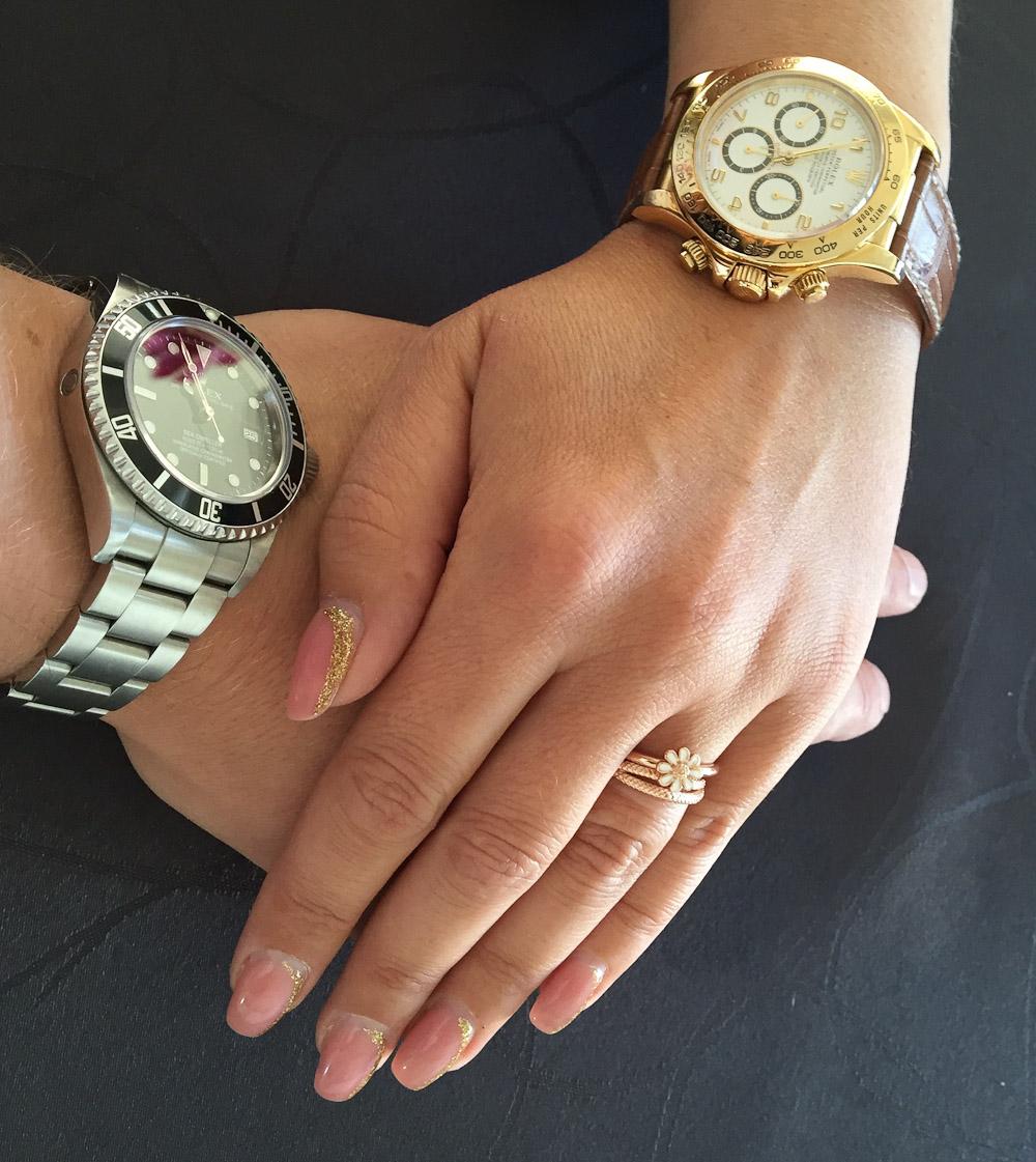 Morten Rask med nye negle. Eller.. Rolex i hvert fald.