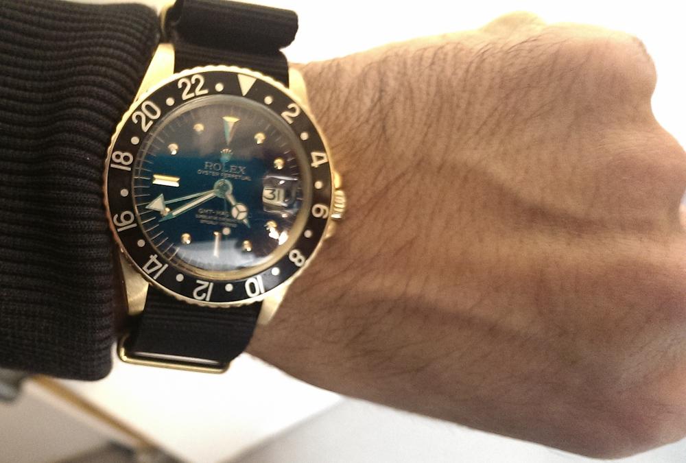 Mark Sinclair spottede dette ur på Mourad K