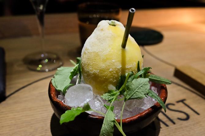 Citron forfriskning med et let skævt gin a la Geranium