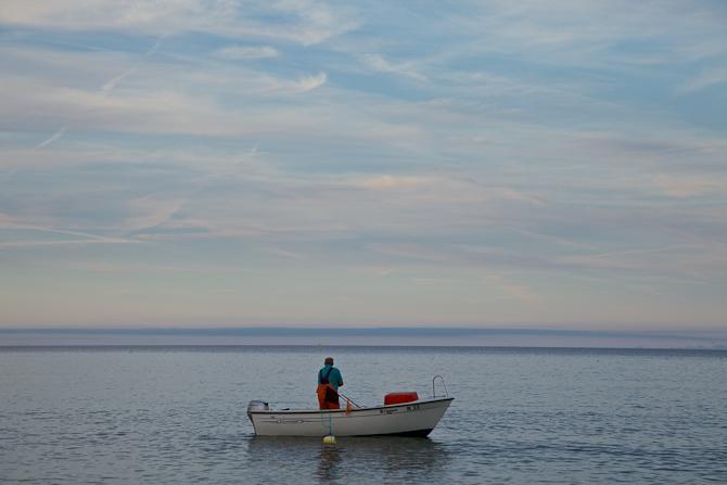 "En bornholmsk ""Seamaster"". Foto: Thomas Knudsen"