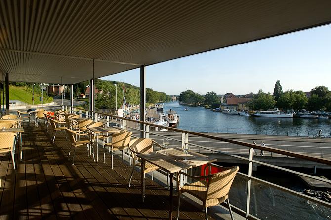 Restaurant 1a har Silkeborgs måske smukkeste udsigt