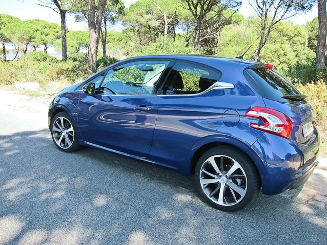 Dagens bil i skysovs - Peugeot 208