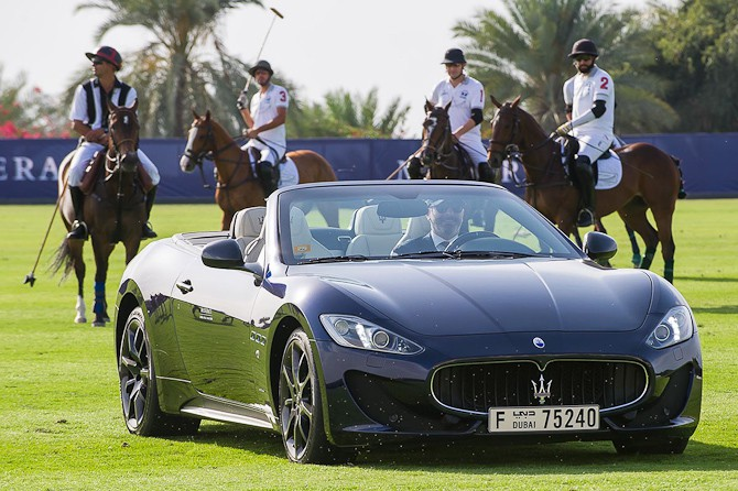 Maserati Dubai Polo Challenge - og der er video til. En god en!
