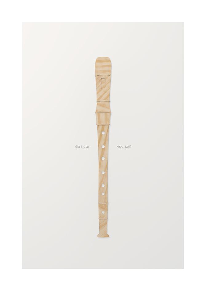 Titel: Plywood Flute