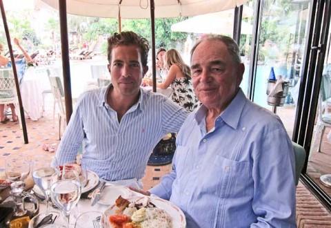 En legendarisk frokost med en legende.