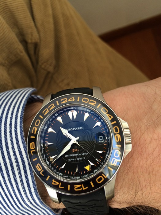 Rasmus Bogoe med Chopard LUC Pro one GMT