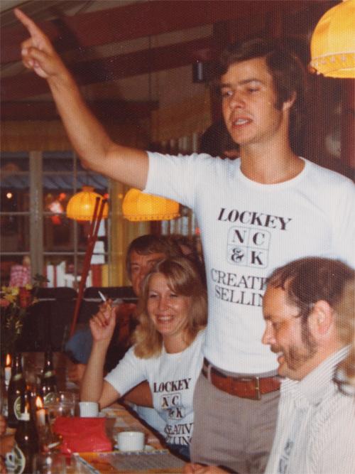 Bureauet hed Lockey N C & K, og nogle vil mene, der er nogle ligheder mellem min far og hans søn.