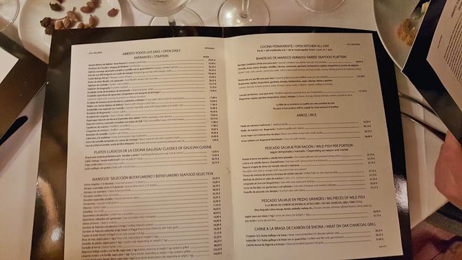 Los menu...