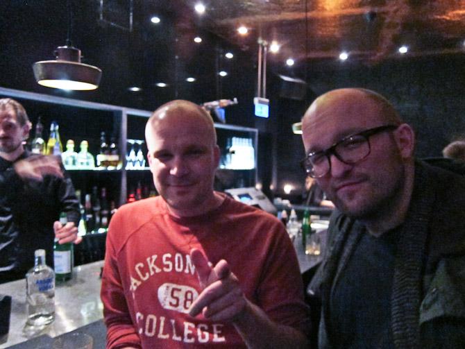 Nils Petter - også kendt som Skuggan - og den rare Anders Aagaard.