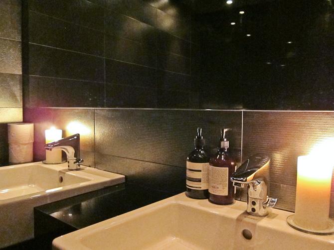 WC skud - med fokus på sæbe med scrub frem for tønder.