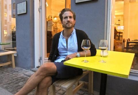 Pause ved det gule bord