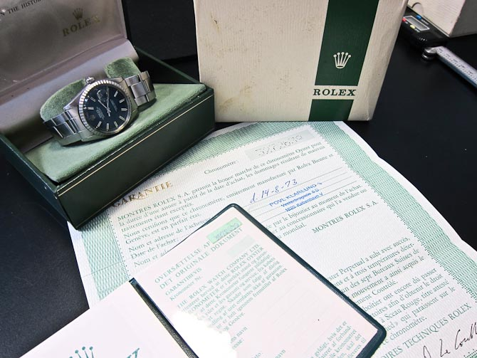 7c7f82a660b Rolex Datejust reference 1603 anno 1973 - historisk på armen