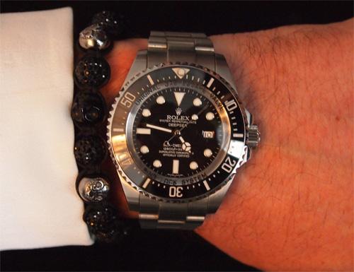 Rolex Deepsea - nu med Nilaya.