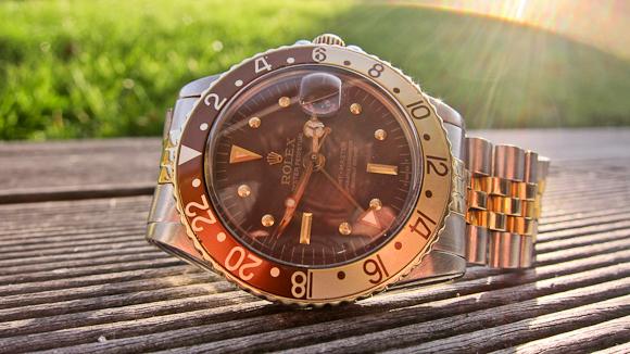 Hello you - Rolex GMT-Master ref. 1675 med den knapt så vanlige skive.
