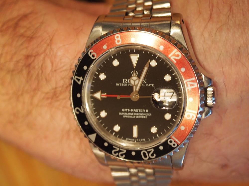 Dagens ur - Rolex GMT Master II. Indkøbt i 1992.