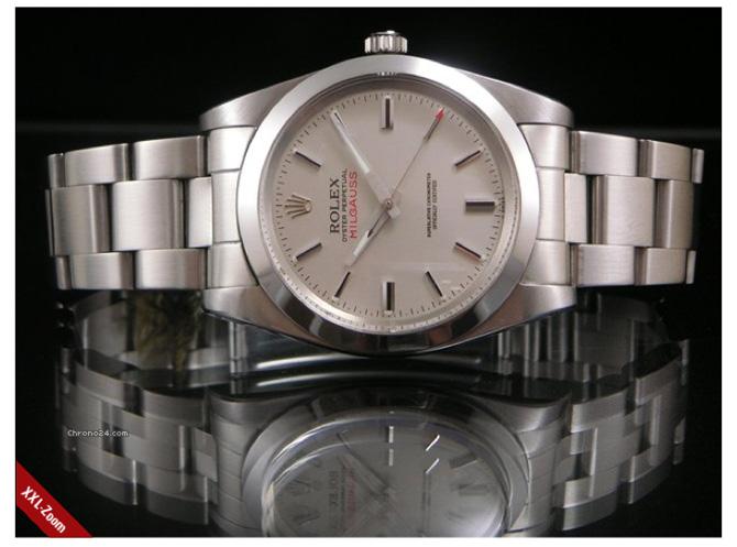 Det er en model som denne, der vækker noget i Leif. Og jeg forstår det egentlig helt fint - det er underspillet ur, du stort set aldrig ser. Foto: Chrono24.com