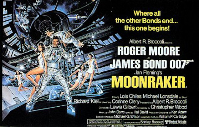 Bond goes Moonraker
