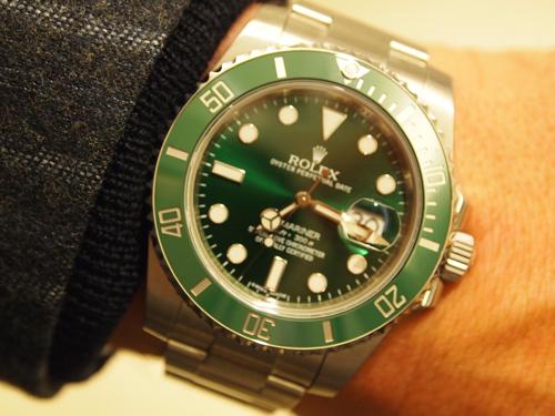 """Den """"nye"""" grønne - spottet på en heldig ejer."""