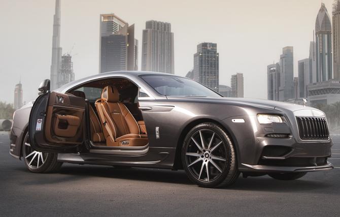 Rolls-Royce Wraith Ares intro-1