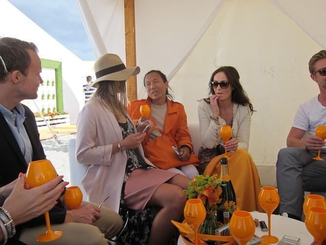 Orange scene...