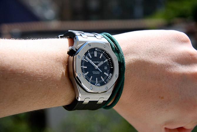 Simon var en blandt flere, der diskede op med et lækkert ur... Se resten af billederne og vinderen i dagens skrivelse.