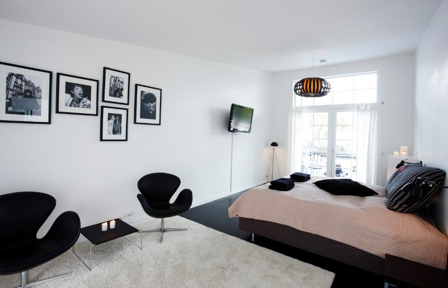 Et værelse med udsigt - og hygge ad libitum.