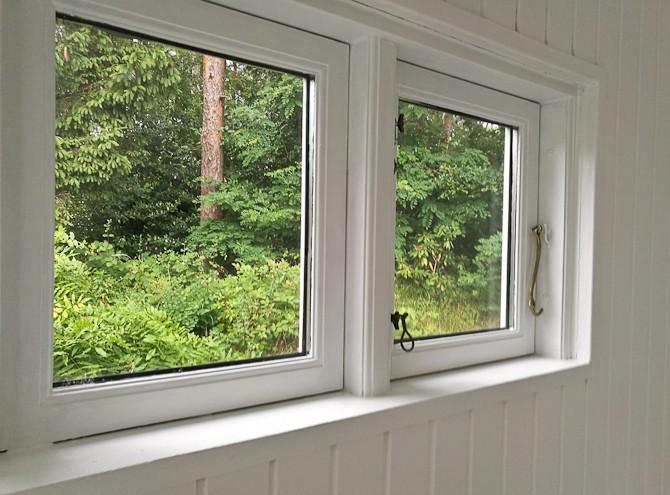 Kig gennem vindue