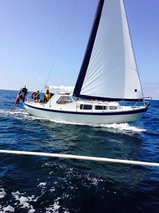 Sommerferie på båd