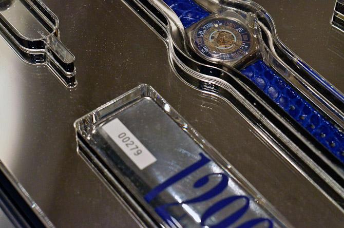 Den er god nok - uret her er lavet af platin