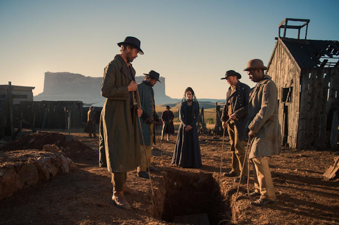 Ingen western uden en begravelse. Foto: Joe Alblas