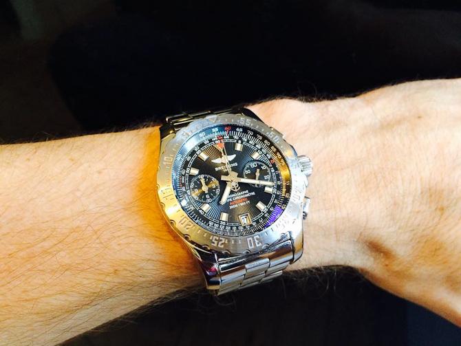 Skyracer - i øvrigt med chronometer certificering